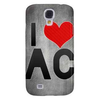 I Love AC Galaxy S4 Covers