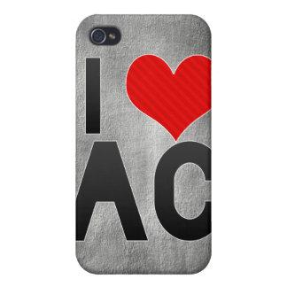 I Love AC iPhone 4 Case