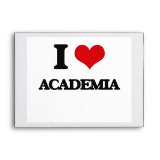 I Love Academia Envelopes