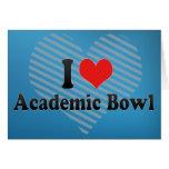 I Love Academic Bowl Card