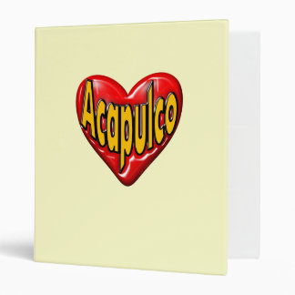 I Love Acapulco Binder