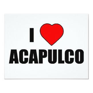 I Love Acapulco, Mexico Card