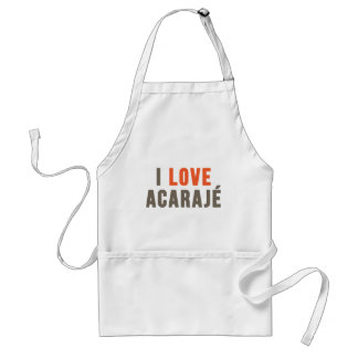 """I Love Acarajé"" Adult Apron"