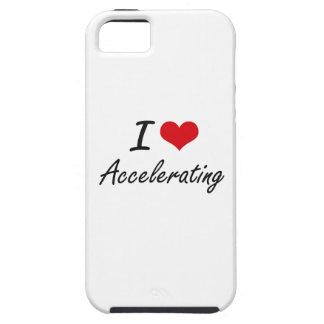 I Love Accelerating Artistic Design iPhone 5 Cases