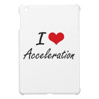 I Love Acceleration Artistic Design iPad Mini Cases