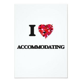 I Love Accommodating 5x7 Paper Invitation Card