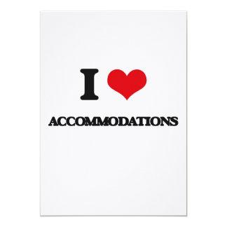 I Love Accommodations 5x7 Paper Invitation Card