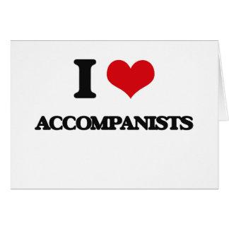 I Love Accompanists Cards