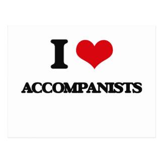 I Love Accompanists Postcards