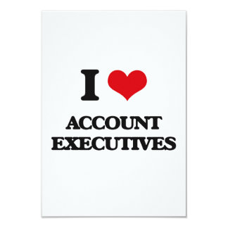 I love Account Executives Custom Announcement