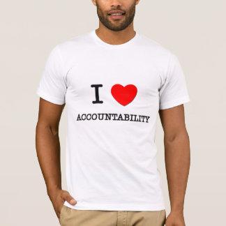 I Love Accountability T-Shirt