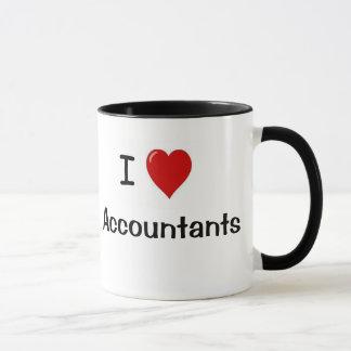 I Love Accountants - Types of Accountant Mug