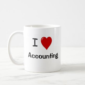 I Love Accounting - Double Sided Mug mug