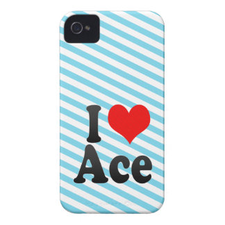 I love Ace iPhone 4 Cases