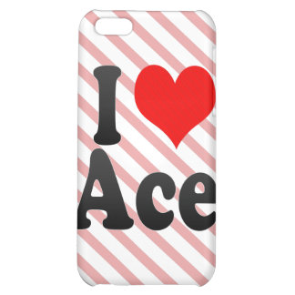 I love Ace iPhone 5C Cover