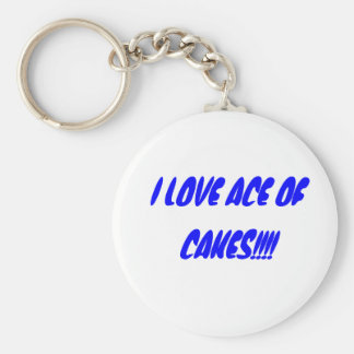 I LOVE ACE OF CAKES!!!! BASIC ROUND BUTTON KEYCHAIN