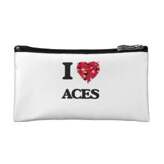 I Love Aces Makeup Bags