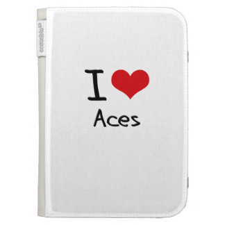 I love Aces Kindle 3G Cases