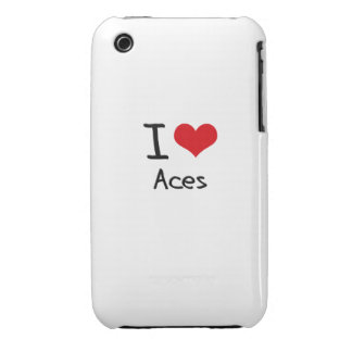 I love Aces iPhone 3 Case