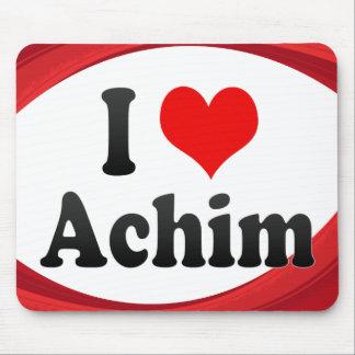 I Love Achim Germany Ich Liebe Achim Germany Mouse Pads