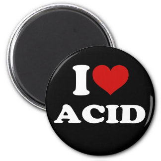 I Love Acid Magnet