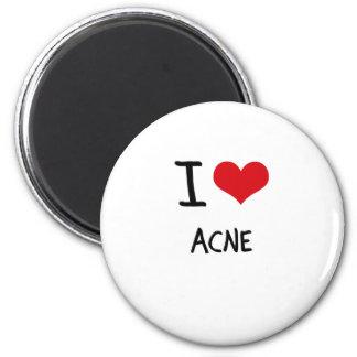 I Love Acne Fridge Magnet