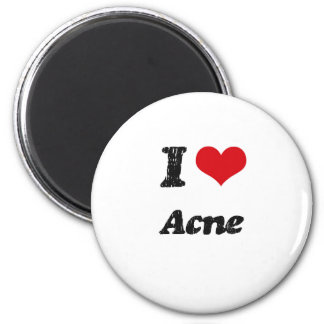 I Love Acne Magnets
