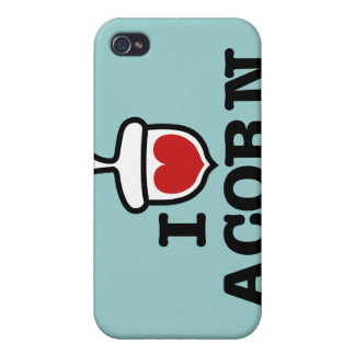 I Love Acorn Speck Case Case For iPhone 4