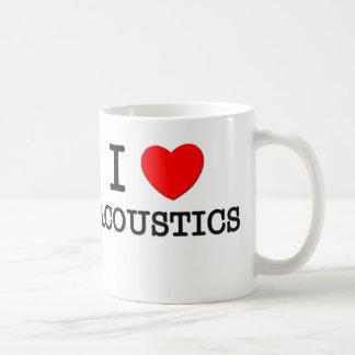 I Love Acoustics Mug