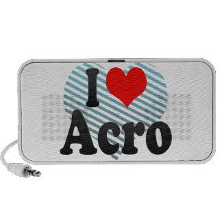 I love Acro Speaker System