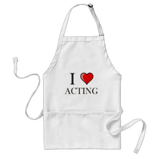 I love Acting Apron