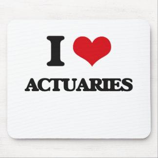 I love Actuaries Mousepad