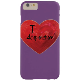I Love Acupuncture phone case purple background
