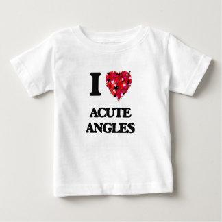 I Love Acute Angles T-shirts