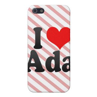 I love Ada iPhone 5/5S Cover