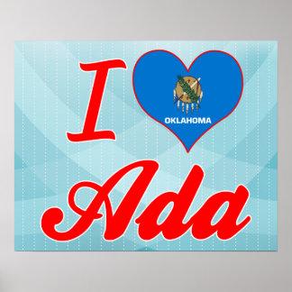 I Love Ada, Oklahoma Poster