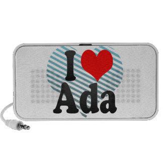 I love Ada Speaker System