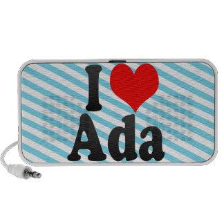 I love Ada Notebook Speaker