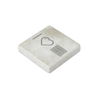 I Love Adaptor Hardwares Stone Magnet