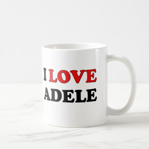 I Love Adele Mug