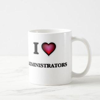 I Love Administrators Coffee Mug