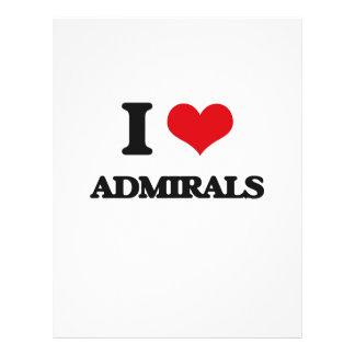 I Love Admirals Flyer