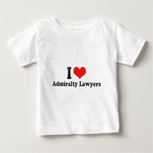 I Love Admiralty Lawyers T-shirt T-Shirt, Hoodie, Sweatshirt