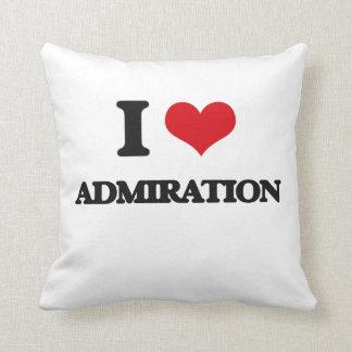 I Love Admiration Pillow