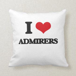 I Love Admirers Pillow