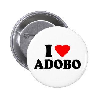 I Love Adobo 2 Inch Round Button