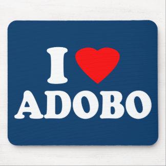 I Love Adobo Mouse Pad