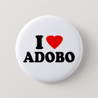 I Love Adobo Pinback Button