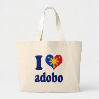 I Love Adobong Pinoy Tote Bag