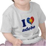 I Love Adobong Pinoy Tee Shirt